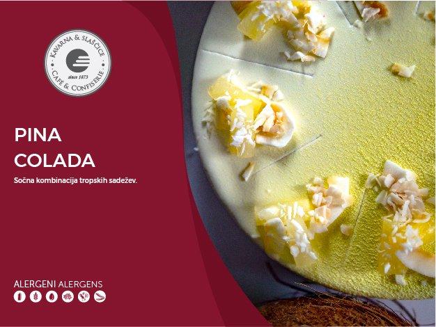 Pina Colada torta 8-10 kosov (35,20€)