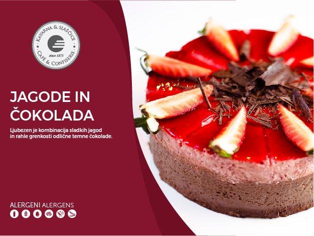 Jagode in čokolada 8-10 kosov (23,00€)