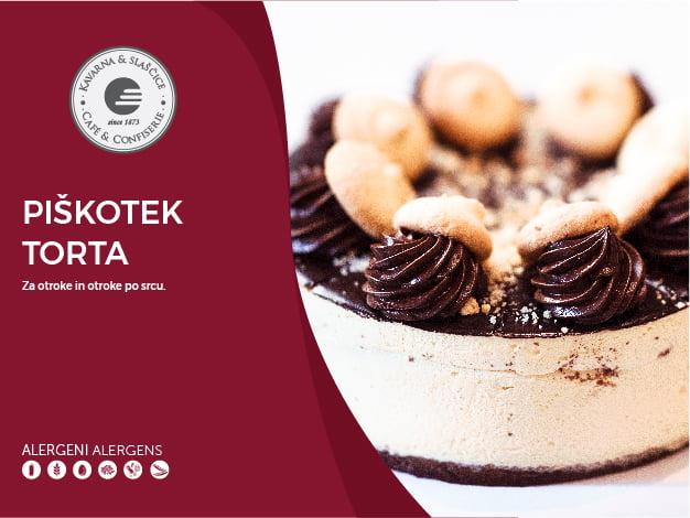 Piškotek torta 8-10 kosov (23,00€)